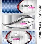 eps10 vector set of elegant... | Shutterstock .eps vector #87314830