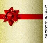 christmas background made of... | Shutterstock .eps vector #87356249