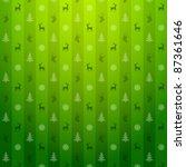 christmas green background.... | Shutterstock .eps vector #87361646