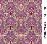 Paisley Seamless Pattern In...