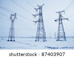 Electrical Tower Structure In...