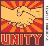 Unity Poster  Handshake