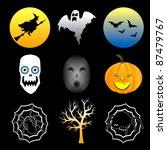 vector illustration of nine...   Shutterstock .eps vector #87479767