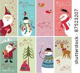 christmas banners | Shutterstock .eps vector #87523207