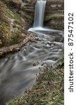 minnehaha waterfall miinnesota...   Shutterstock . vector #87547102