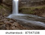 minnehaha waterfall miinnesota...   Shutterstock . vector #87547108