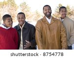 father and sons   Shutterstock . vector #8754778