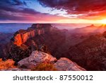North Rim Of The Grand Canyon...