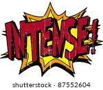 intense | Shutterstock .eps vector #87552604