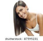 portrait of attractive ... | Shutterstock . vector #87595231