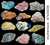 Many Rocks And Minerals...