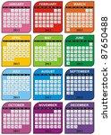 Vector   Calendar Design 2013