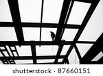 dramatic stylized black and... | Shutterstock . vector #87660151