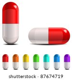 pills | Shutterstock .eps vector #87674719