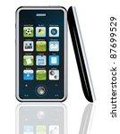 mobile phone | Shutterstock .eps vector #87699529