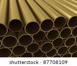 the group of non ferrous alloy... | Shutterstock . vector #87708109