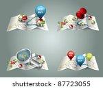 real estate maps | Shutterstock .eps vector #87723055