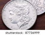 1889 Usa Morgan Silver Dollar...