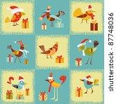 winter background | Shutterstock .eps vector #87748036