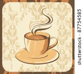 coffee cup | Shutterstock . vector #87754585