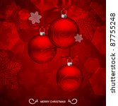Christmas Balls. Sample Text O...