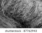 Full Frame Abstract Steel Wool...