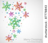 Different Color Snowflakes On ...