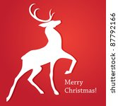 the traditional christmas card... | Shutterstock .eps vector #87792166