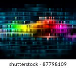 Vibrant Abstract Background Fo...