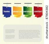 web button design | Shutterstock .eps vector #87804382