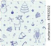 Christmas Seamless Doodles