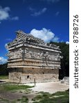 ancient mayan house in the... | Shutterstock . vector #8788726