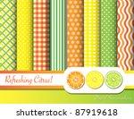 citrus fruit  digital... | Shutterstock .eps vector #87919618