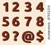 Set Of Chocolate Numbers And...
