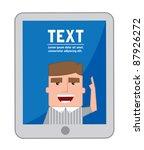 cartoon character set... | Shutterstock .eps vector #87926272