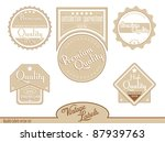 brown premium  high quality... | Shutterstock .eps vector #87939763