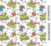 christmas background | Shutterstock .eps vector #87946954