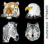 Fractal Animal Pack  Tiger ...