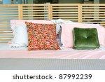 luxurious bedroom close up | Shutterstock . vector #87992239