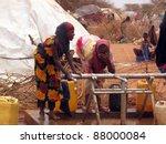 dadaab  somalia august 15 ... | Shutterstock . vector #88000084