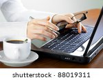 accounting. | Shutterstock . vector #88019311
