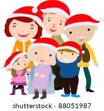 family | Shutterstock .eps vector #88051987