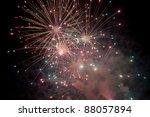 firework | Shutterstock . vector #88057894