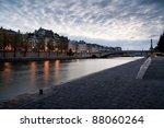 quai de la tournelle  paris   Shutterstock . vector #88060264