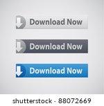 vector web site download... | Shutterstock .eps vector #88072669