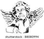 angel | Shutterstock .eps vector #88080994