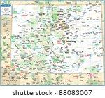 Colorado State Map