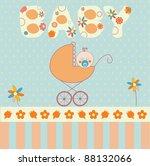 baby boy | Shutterstock .eps vector #88132066