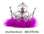 magenta pink princess crown... | Shutterstock . vector #88159246