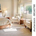 beautiful bedroom detail | Shutterstock . vector #88160788